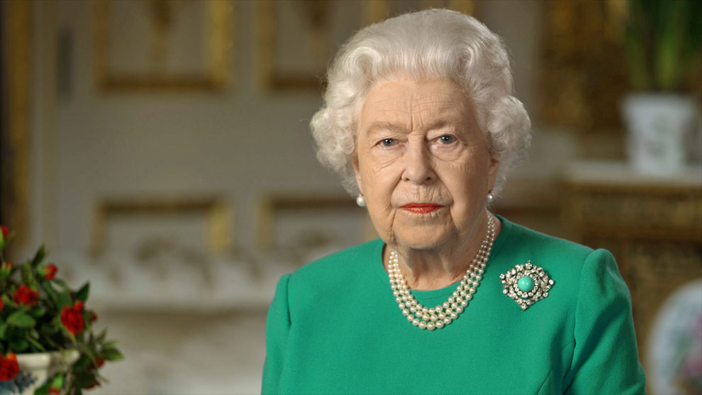 Queen Elizabeth appreciates the efforts of health care employees during COVID-19 pandemic
