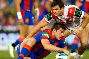 Newcastle Knights vs St George Illawarra Dragons
