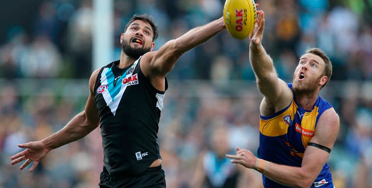 West Coast Eagles vs Port Adelaide