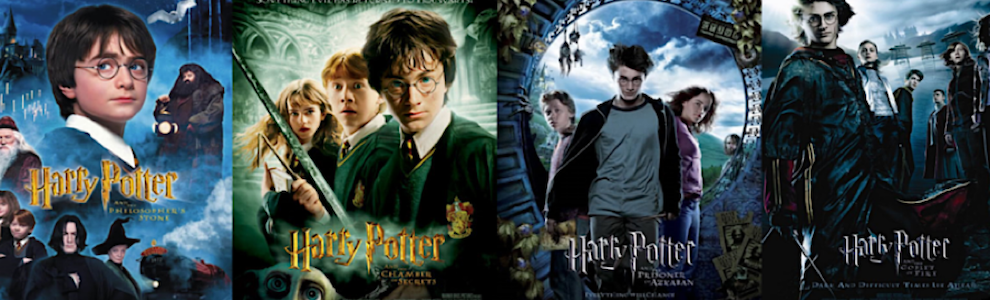 Harry Potter film posters